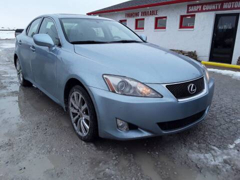 2007 Lexus IS 250 for sale at Sarpy County Motors in Springfield NE