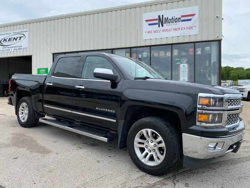 2015 Chevrolet Silverado 1500 for sale at N Motion Sales LLC in Odessa MO
