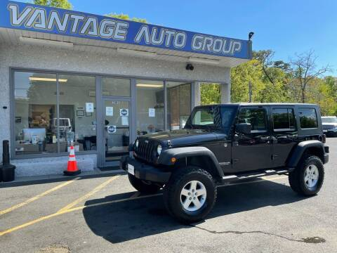 2008 Jeep Wrangler Unlimited for sale at Vantage Auto Group in Brick NJ