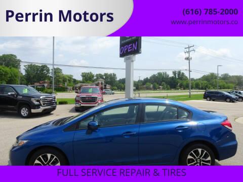 2014 Honda Civic for sale at Perrin Motors in Comstock Park MI