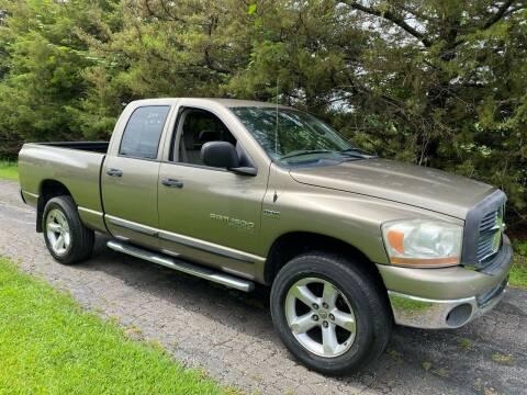 2006 Dodge Ram Pickup 1500 for sale at Kansas Car Finder in Valley Falls KS