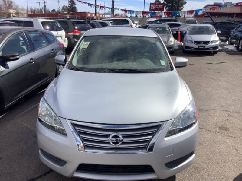 2013 Nissan Sentra for sale at GPS Motors in Denver CO