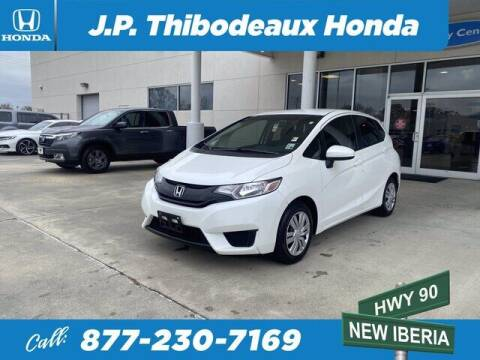 2016 Honda Fit for sale at J P Thibodeaux Used Cars in New Iberia LA
