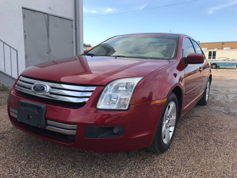 2009 Ford Fusion for sale at BJ International Auto LLC in Dallas TX