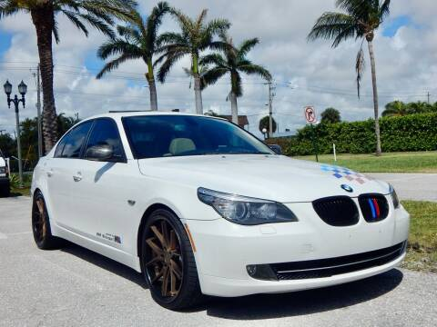 2008 BMW 5 Series for sale at VE Auto Gallery LLC in Lake Park FL