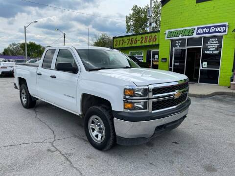 2015 Chevrolet Silverado 1500 for sale at Empire Auto Group in Indianapolis IN