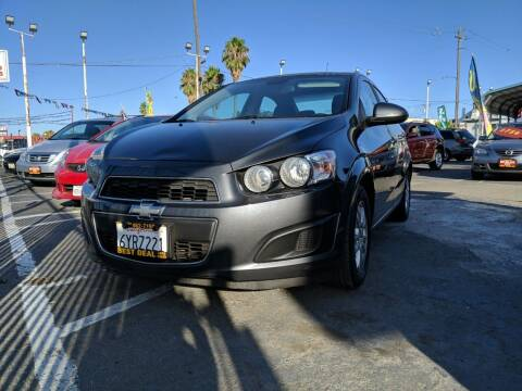 2013 Chevrolet Sonic for sale at Best Deal Auto Sales in Stockton CA