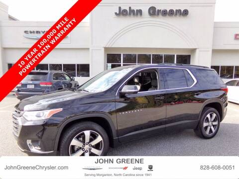 2020 Chevrolet Traverse for sale at John Greene Chrysler Dodge Jeep Ram in Morganton NC