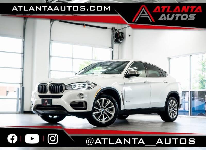 2018 BMW X6 for sale in Marietta, GA