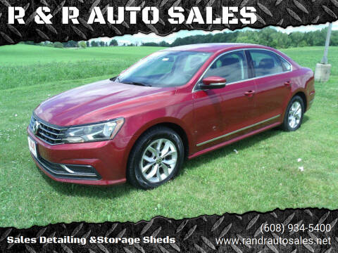 2016 Volkswagen Passat for sale at R & R AUTO SALES in Juda WI