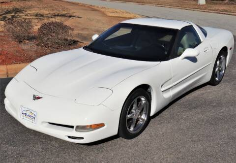 2004 Chevrolet Corvette for sale at Weaver Motorsports Inc in Cary NC