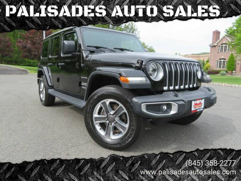 2018 Jeep Wrangler Unlimited for sale at PALISADES AUTO SALES in Nyack NY
