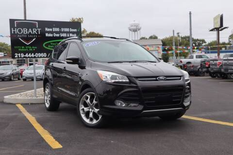 2013 Ford Escape for sale at Hobart Auto Sales in Hobart IN