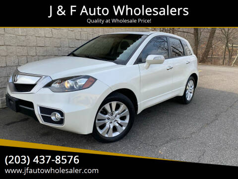 2011 Acura RDX for sale at J & F Auto Wholesalers in Waterbury CT