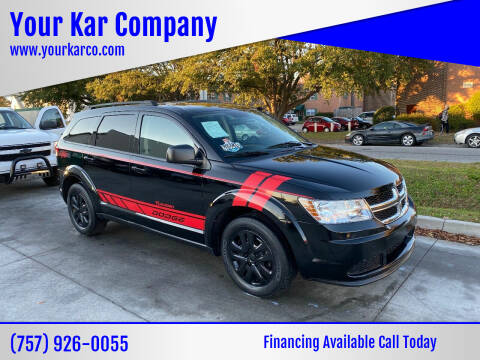 2018 Dodge Journey for sale at Your Kar Company in Norfolk VA