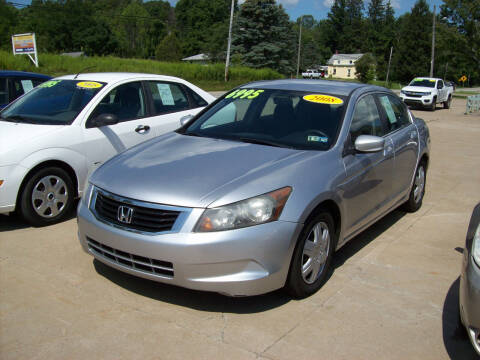 2008 Honda Accord for sale at Summit Auto Inc in Waterford PA