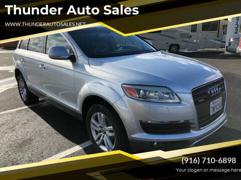2008 Audi Q7 for sale at Thunder Auto Sales in Sacramento CA