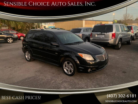 2007 Pontiac Vibe for sale at Sensible Choice Auto Sales, Inc. in Longwood FL
