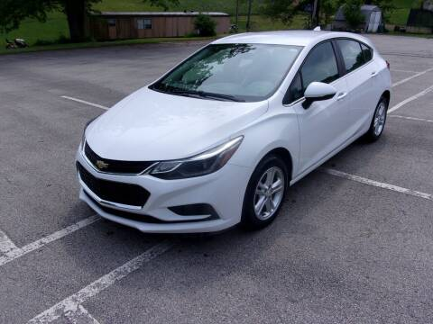 2017 Chevrolet Cruze for sale at Pyles Auto Sales in Kittanning PA