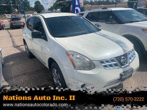 2013 Nissan Rogue for sale at Nations Auto Inc. II in Denver CO