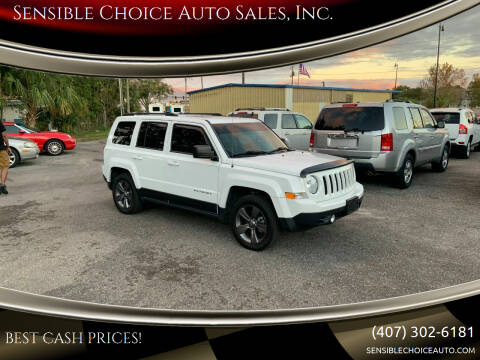 2015 Jeep Patriot for sale at Sensible Choice Auto Sales, Inc. in Longwood FL