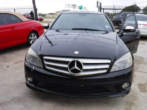 2008 Mercedes-Benz C-Class for sale at N & A Metro Motors in Dallas TX