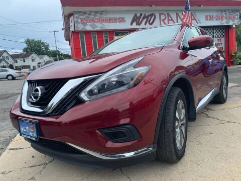 2018 Nissan Murano for sale at AUTORAMA SALES INC. in Farmingdale NY