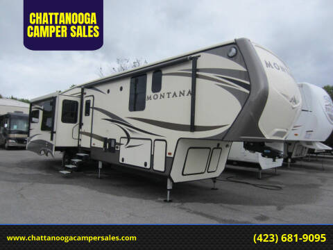 2017 Keystone Montana for sale at CHATTANOOGA CAMPER SALES in Chattanooga TN