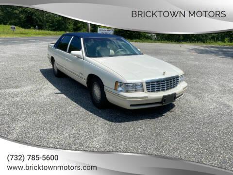 1998 Cadillac DeVille for sale at Bricktown Motors in Brick NJ