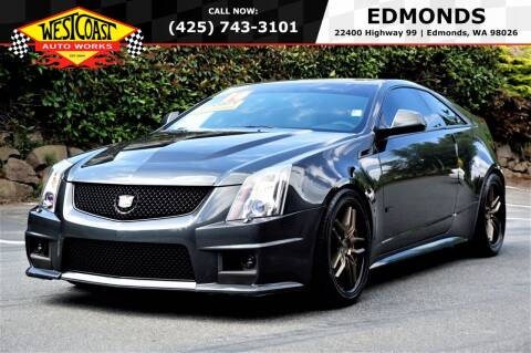 2014 Cadillac CTS-V for sale at West Coast Auto Works in Edmonds WA