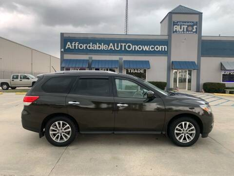 2015 Nissan Pathfinder for sale at Affordable Autos in Houma LA