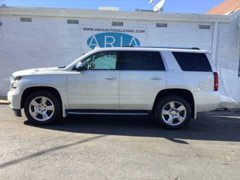 2015 Chevrolet Tahoe for sale at ARIA  AUTO  SALES in Raleigh NC