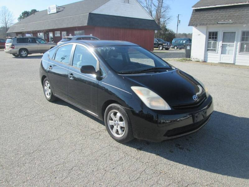 2004 Toyota Prius for sale at Wally's Wholesale in Manakin Sabot VA
