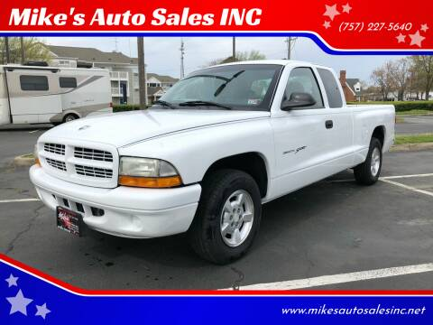 2001 Dodge Dakota for sale at Mike's Auto Sales INC in Chesapeake VA