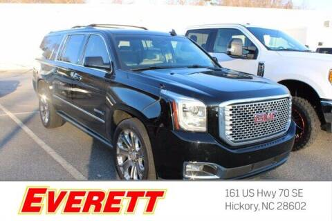 2015 GMC Yukon XL for sale at Everett Chevrolet Buick GMC in Hickory NC