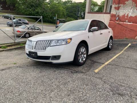 2010 Lincoln MKZ for sale at MG Auto Sales in Pittsburgh PA