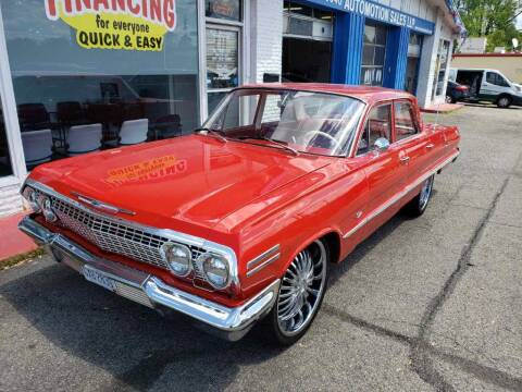 1963 Chevrolet Impala for sale at AutoMotion Sales in Franklin OH