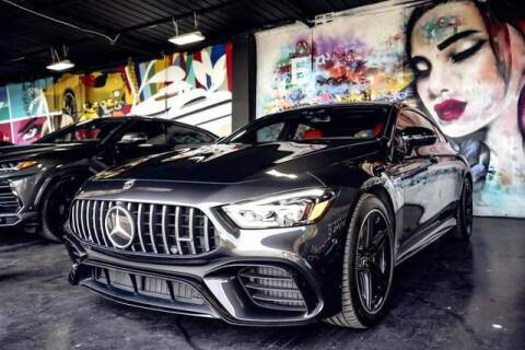 2019 Mercedes-Benz AMG GT for sale at ELITE MOTOR CARS OF MIAMI in Miami FL