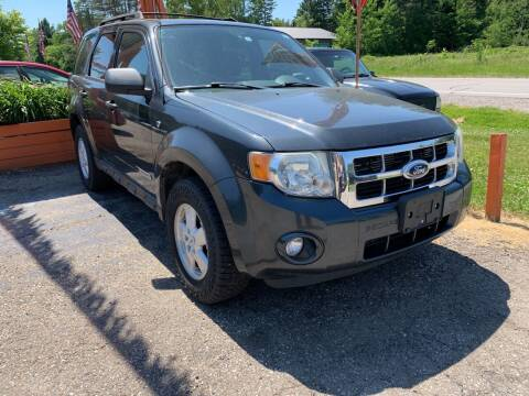 2008 Ford Escape for sale at CARS R US in Caro MI