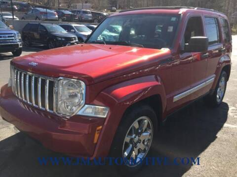 2010 Jeep Liberty for sale at J & M Automotive in Naugatuck CT