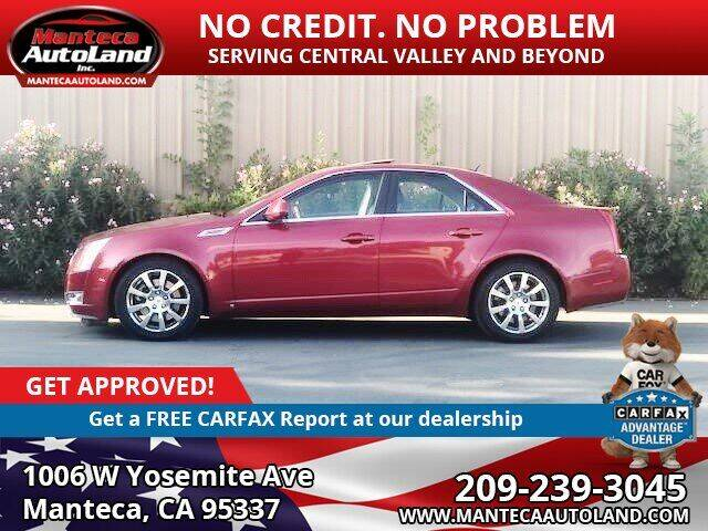2008 Cadillac CTS for sale at Manteca Auto Land in Manteca CA