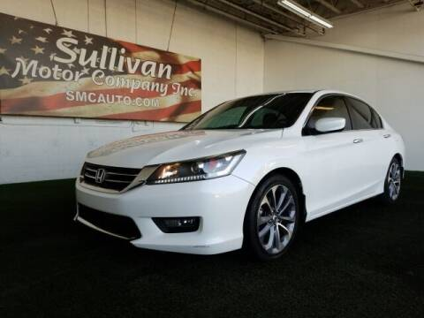 2014 Honda Accord for sale at SULLIVAN MOTOR COMPANY INC. in Mesa AZ