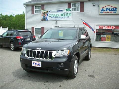 2013 Jeep Grand Cherokee for sale at A-Plus Motors in Alton ME