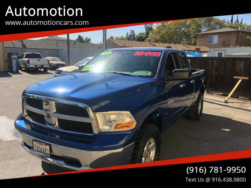 2009 Dodge Ram Pickup 1500 for sale at Automotion in Roseville CA
