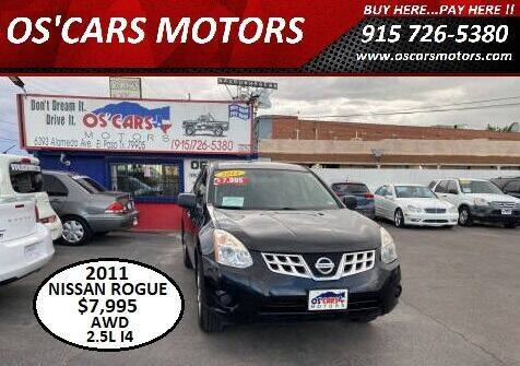 2011 Nissan Rogue for sale at Os'Cars Motors in El Paso TX