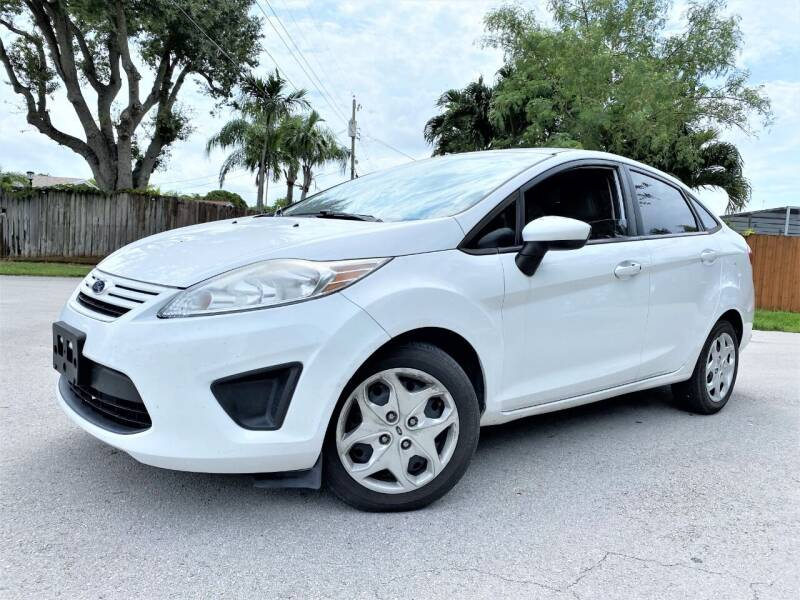 2013 Ford Fiesta for sale at LESS PRICE AUTO BROKER in Hollywood FL