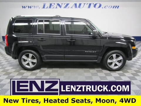 2017 Jeep Patriot for sale at LENZ TRUCK CENTER in Fond Du Lac WI