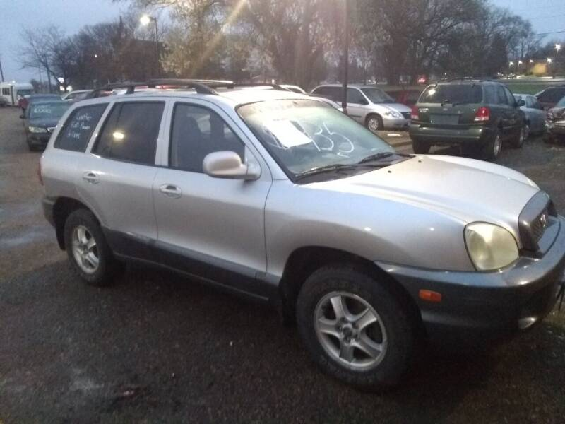 2003 Hyundai Santa Fe for sale at Continental Auto Sales in White Bear Lake MN