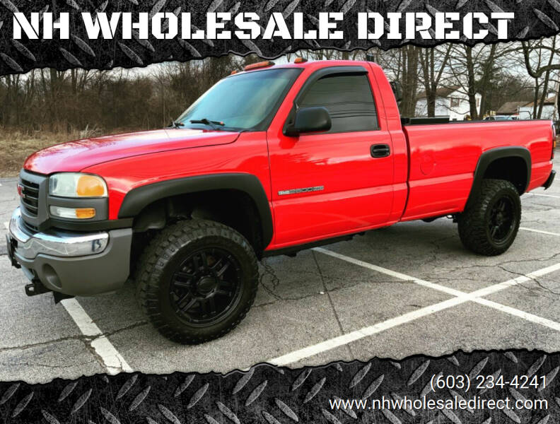 2005 GMC Sierra 2500HD for sale at NH WHOLESALE DIRECT in Derry NH