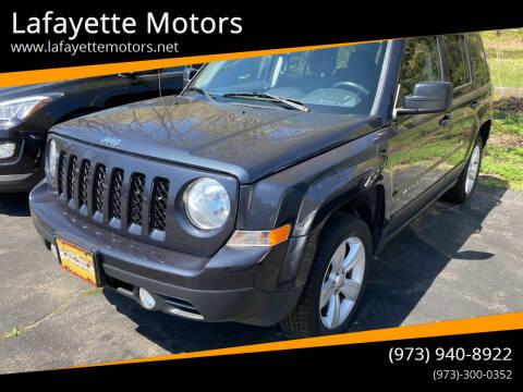 2014 Jeep Patriot for sale at Lafayette Motors in Lafayette NJ